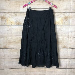 Soft Surroundings black skirt size S // S31